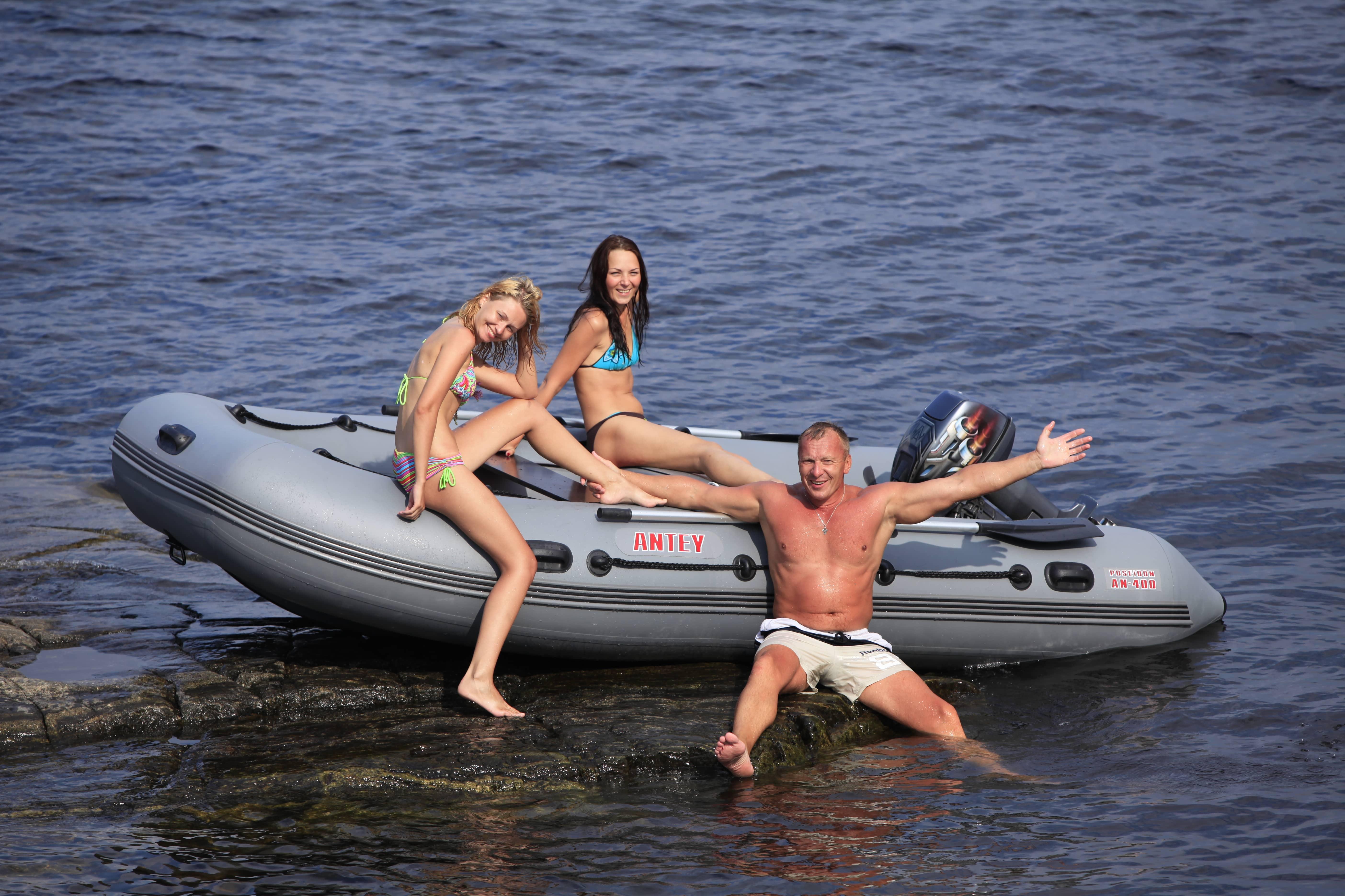 Надувная лодка Посейдон Антей 420