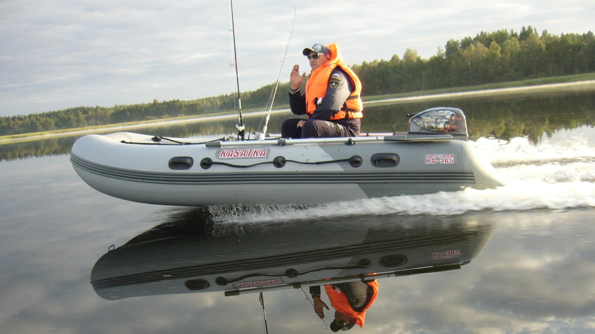 моторная лодка ПОСЕЙДОН Касатка 335