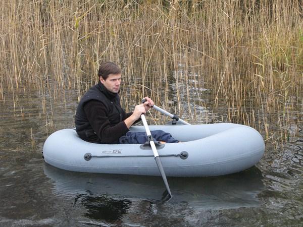 Надувная лодка Stream Ёрш (с гребками)