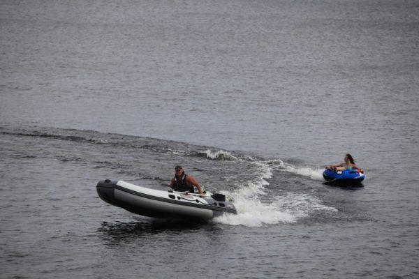 Надувная лодка Посейдон Касатка 365