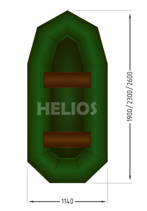 Надувная лодка Гелиос-23 (Helios)