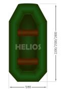 Надувная лодка Гелиос-25 (Helios)