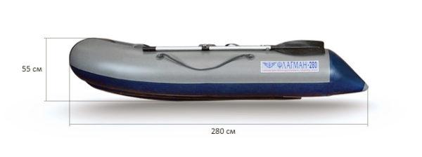 Надувная лодка Флагман 280
