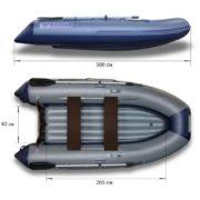 Надувная лодка Флагман 300