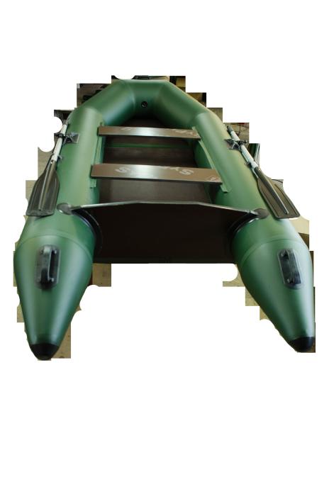 Надувная лодка Гелиос-31МК Серо-синяя (Helios)