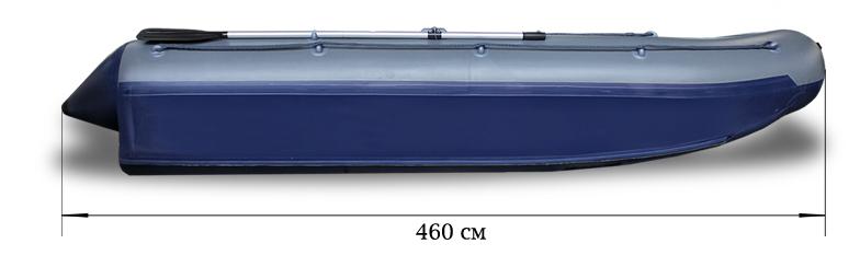 Надувной катамаран Флагман 460