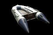 Надувная лодка Гелиос-33МК Серо-синяя (Helios)