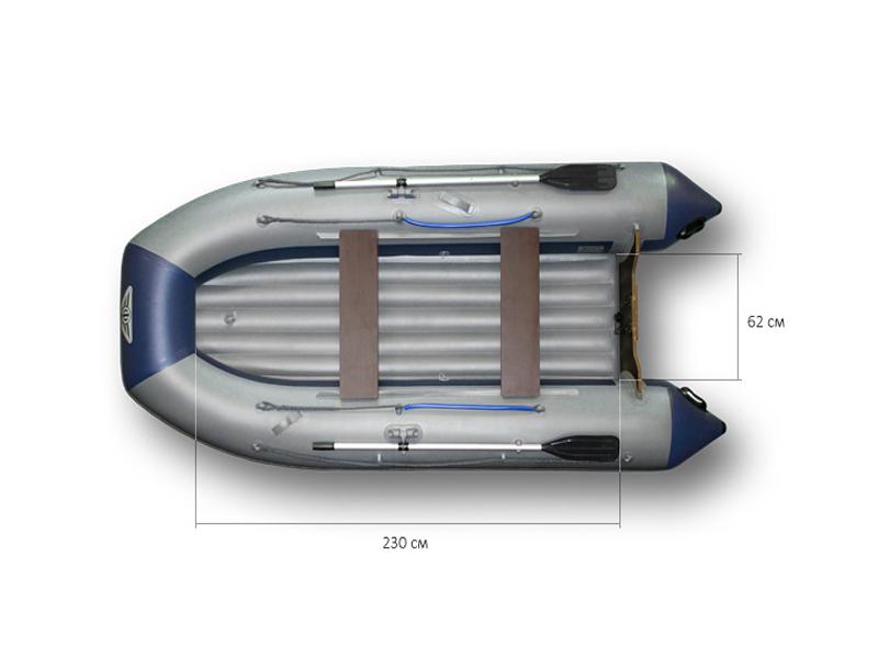 Надувная лодка Флагман 330U