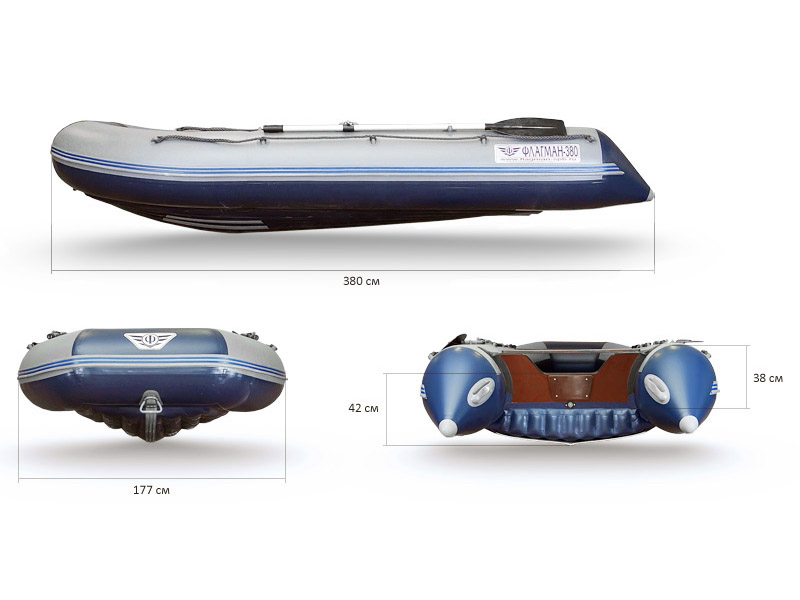 Надувная лодка Флагман 380