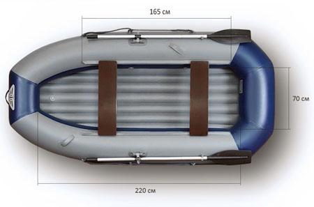 Надувная лодка Флагман 300HT