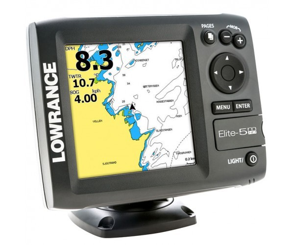Картплоттер Lowrance Elite 5m HD