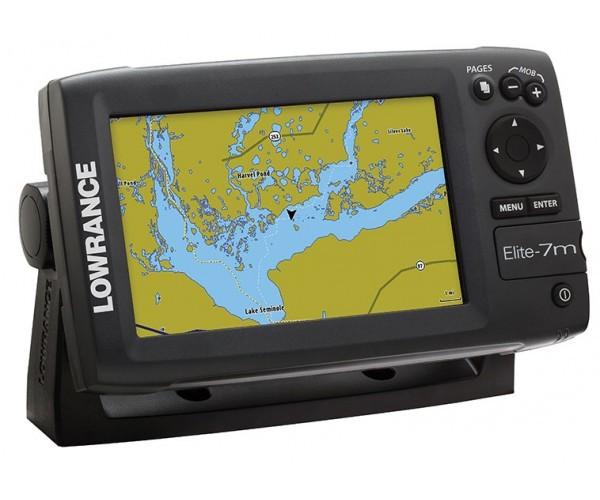 Картплоттер Lowrance Elite-7m