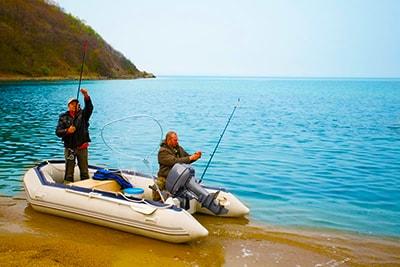 Рыбалка с лодки пвх
