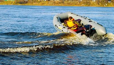 управление лодкой пвх