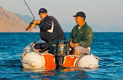 выбор места для рыбалки с лодки