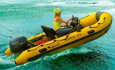 управление моторной лодкой пвх
