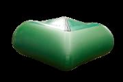 Надувная лодка Гелиос-33МК Зеленая (Helios)