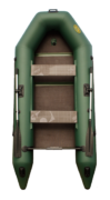 Надувная лодка Гелиос-31МК Зеленая (Helios)