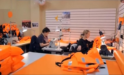 из чего изготовлены спасательные жилеты
