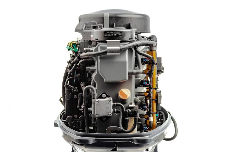 Внутреннее устройство лодочного мотора