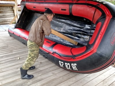 Подготовка лодки к сезону